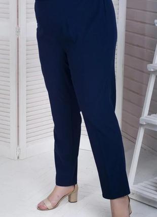 ❤️❤️❤️качественные брюки на резинке большого размера