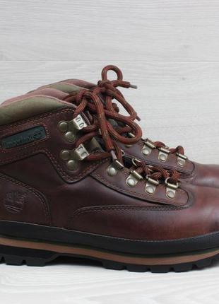 Кожаные ботинки timberland оригинал, размер 38