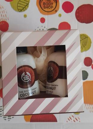 Ореховые наборчики- гель и молочко для тела