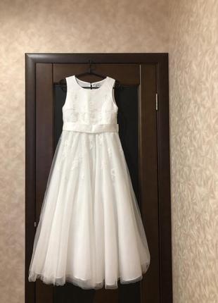 Пышное фатиновое брендовое платье на выпускной, свадебное, бал...