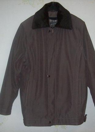 Куртка мужская демисезонная утепленная into plus, размер 50