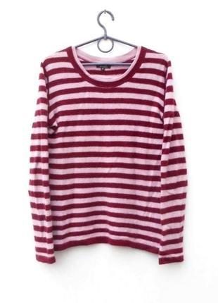 100% кашемировый осенний зимний свитер с длинным рукавом в пол...