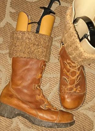 Шкіряні черевики чоботи крутого бренду