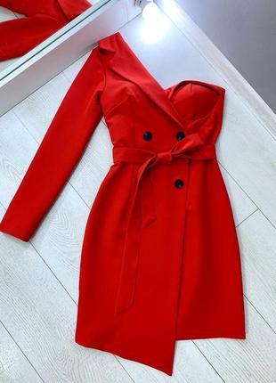 Ассиметричное платье
