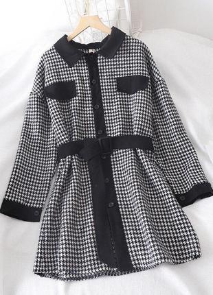 Утеплённое платье