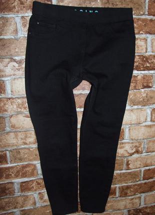черные джеггинсы девочке 9 - 10 лет джинсы