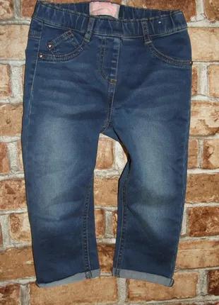джинсовые капри девочке 6 лет шорты некст