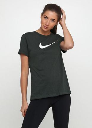 Майка футболка nike w nk dry tee dfc crew оригинал! - 25%
