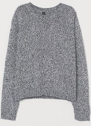 H&m женский вязанный свитер джемпер