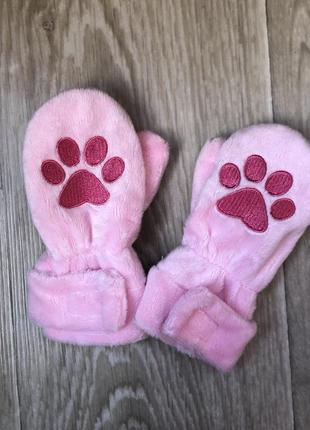 Варюшки , перчатки на флісі