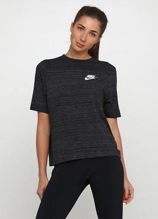 Майка футболка nike womens sportswear advance 15 оригинал! - 50%