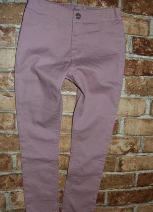 нарядные джинсы девочке 7 - 8 лет
