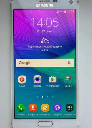 Продам Samsung GALAXY Note 4 White 3/32 ГБ Оригинал!