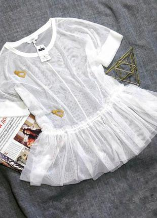Трендовая блузка сетка next