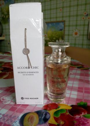 Парфюмерная вода accord chic , 50 мл., оригинал