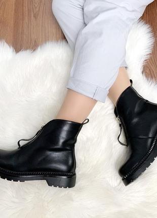 Черные ботиночки новиночка