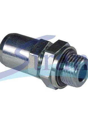 Соединитель прямой m16mm диаметр 10mm трубка