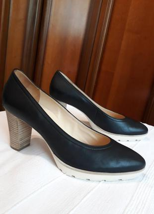 Hogl брендовые#кожаные#шкіряні туфли#мешти#черевики, натуральн...