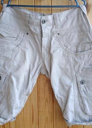 Стильные итальянские мужские шорты police 883, размер w32