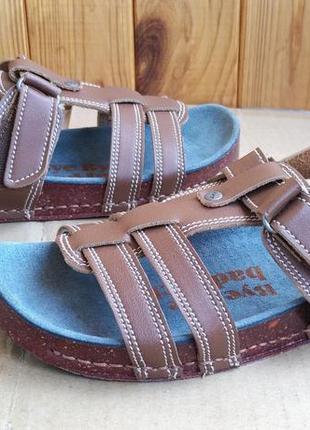 Новые полностью кожаные сандалии босоножки art испания