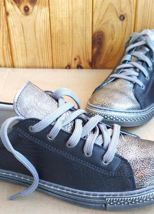 Новые супер стильные полностью кожаные мокасины кеды кроссовки...