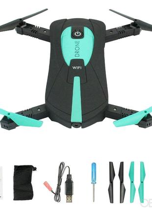 """""""Квадрокоптер селфи-дрон JY018 с Wi-Fi-камерой """""""
