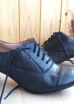 Новые качественные туфли полностью кожаные ботильоны hotter ан...