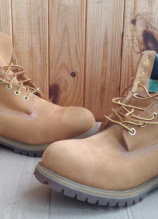 Стильные полностью кожаные новые водонепроницаемые ботинки tim...
