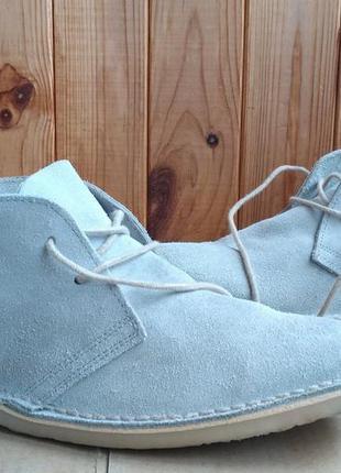 Стильные удобные полностью кожаные ботинки asos