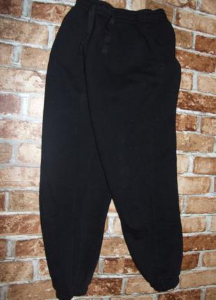 черные спортивные штаны 10 - 11 лет