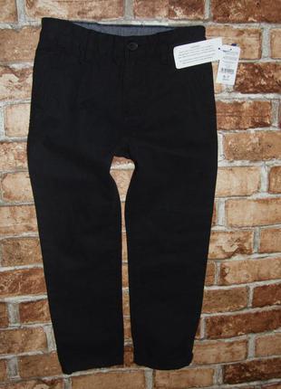 джинсы чиносы черные 6 - 7 лет