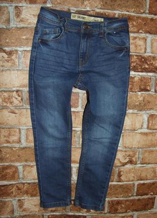 джинсы синие 6 - 7 лет мальчику