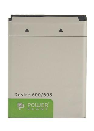 Аккумулятор PowerPlant HTC Desire 600 (BO47100) 1860mAh