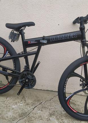 Велосипд на литых дисках складной