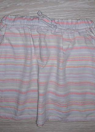 Милая юбка nutmeg на 7-8 лет