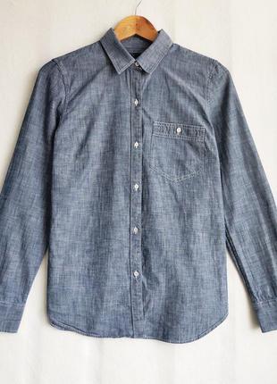 Хлопковая рубашка gap