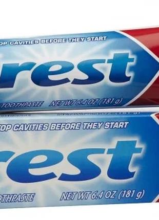 Зубная паста, Crest Cavity Protection, 181 грам