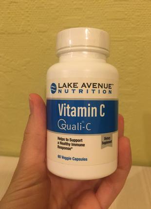 Буфферизированный витамин с америка некислая форма