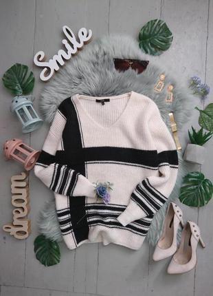 Тёплый плотный свитер №42max
