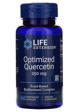 Life Extension, Кверцетин в оптимизированной форме, 250 мг, 60...