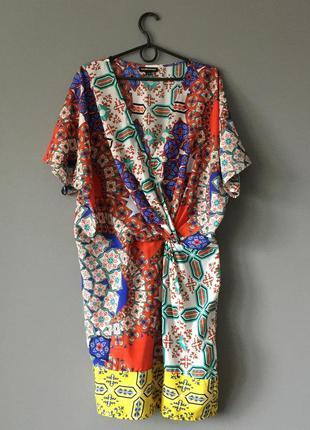 Легкое платье warehouse 16--52 размер.