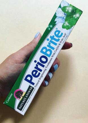 Nature's Answer, Periobrite, зубная паста для природного отбел...