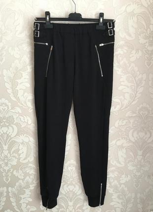 The kooples черные спортивные брюки джогеры