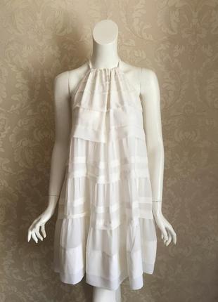 H&m conclusion нарядное молочное платье