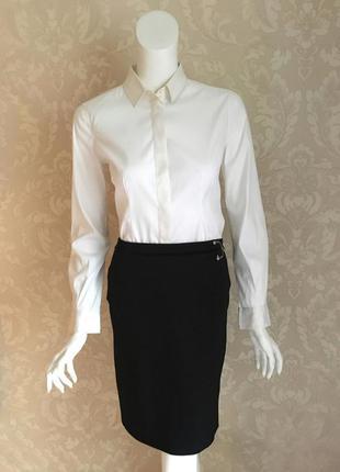 Gucci оригинал италия черная классическая юбка карандаш шерсть