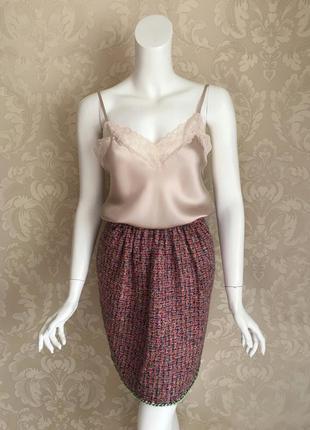 Dolce and gabbana оригинал италия розовая юбка букле