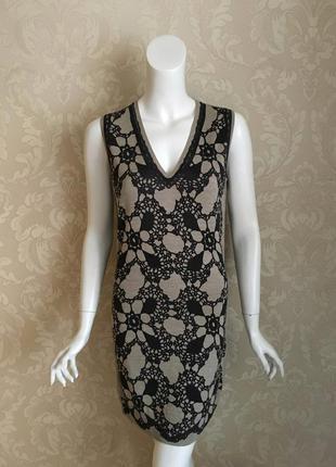 Dolce and gabbana оригинал италия трикотажное шелковое платье