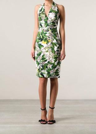 Dolce and gabbana оригинал италия дизайнерское платье