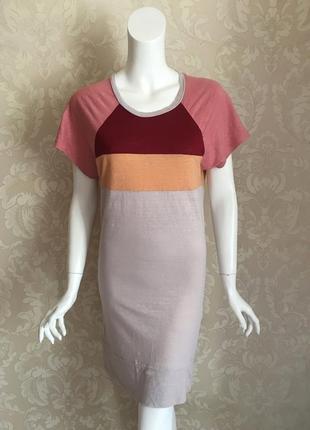 Isabel marant льняное летнее платье-футболка оригинал