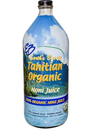 Earth's Bounty, Натуральный таитянский сок нони (Tahitian Orga...